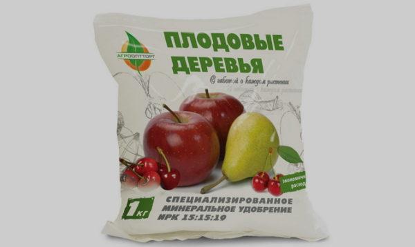 Удобрения для яблонь